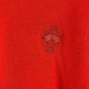 Brooks Brothers Sweaters - Brooks Brothers Red Fleece Merino Wool Sweater XXL